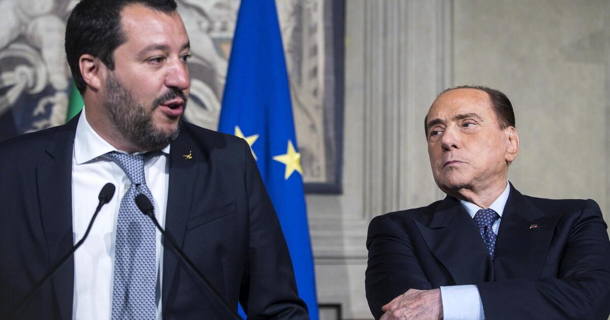 I rimpalli tra il Cav. e Salvini: federazione di centrodestra e legge elettorale