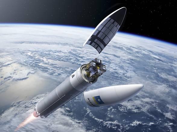 Lancio record, 4 satelliti Galileo con un Ariane 5