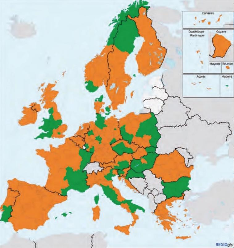 Innovazione In Europa La Classifica In Due Mappe Il Foglio