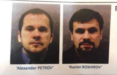 Spia, in Gb mandato arresto per 2 russi