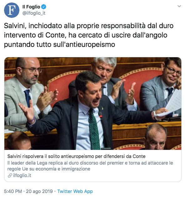 Salvini: porto a casa un'Italia più sicura dopo 1 anno di governo