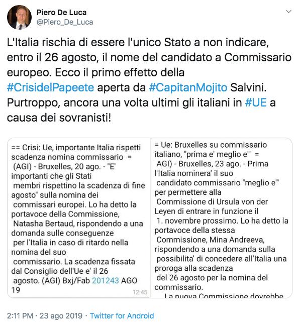 Crisi, incontro Di Maio-Zingaetti: scontro su nome Conte