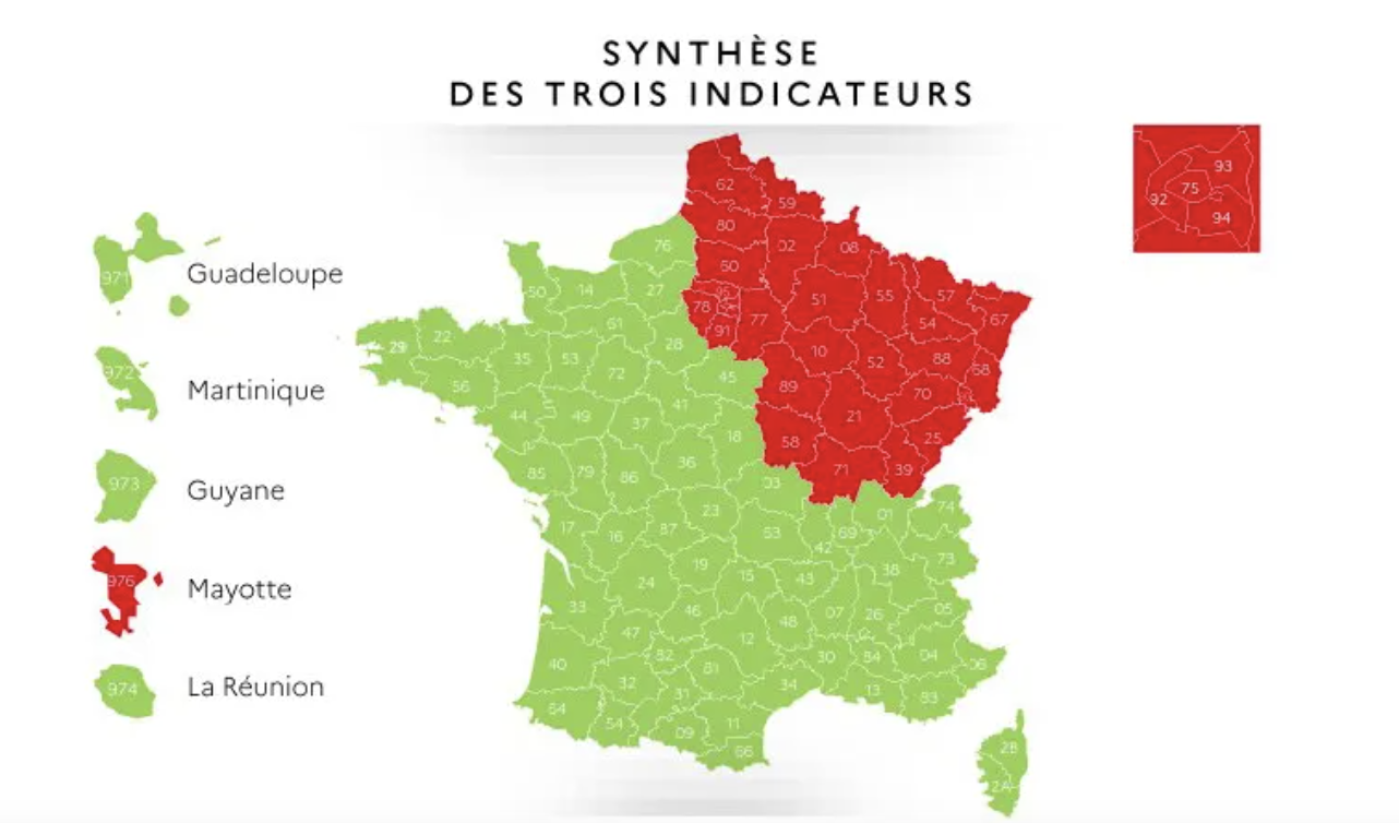 Cartina Francia Tolosa.La Francia Rossa E Quella Verde Il Foglio